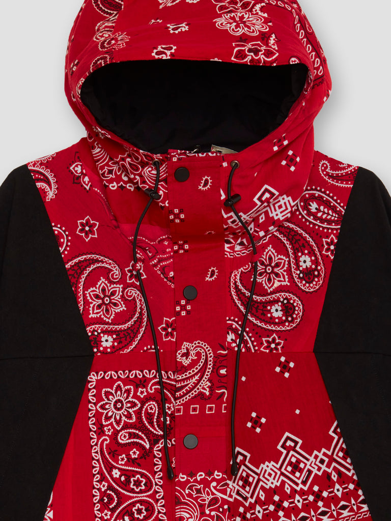 Readymade Red Bandana Mountain Parka