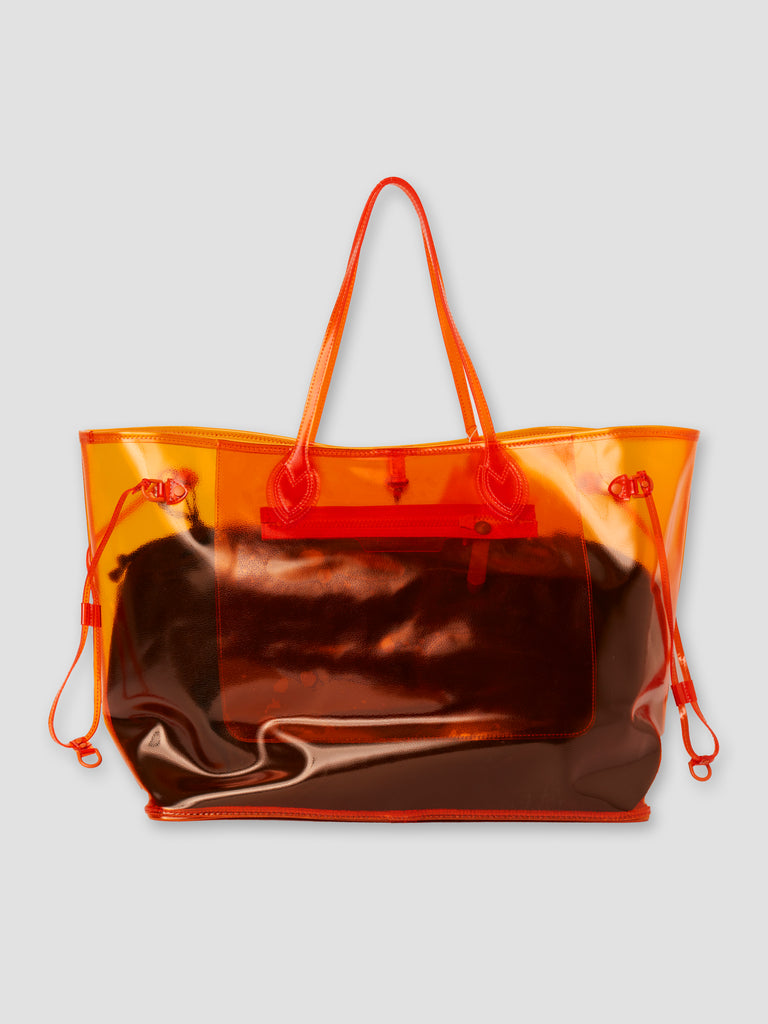 Readymade Roomy Bag Orange PVC