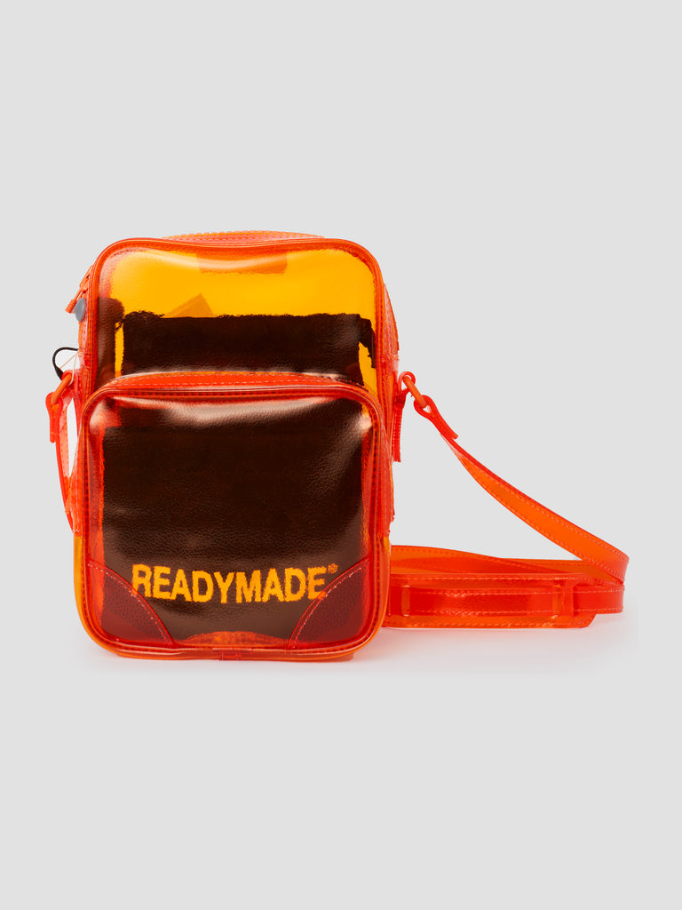 Readymade Small Shoulder Bag Orange PVC