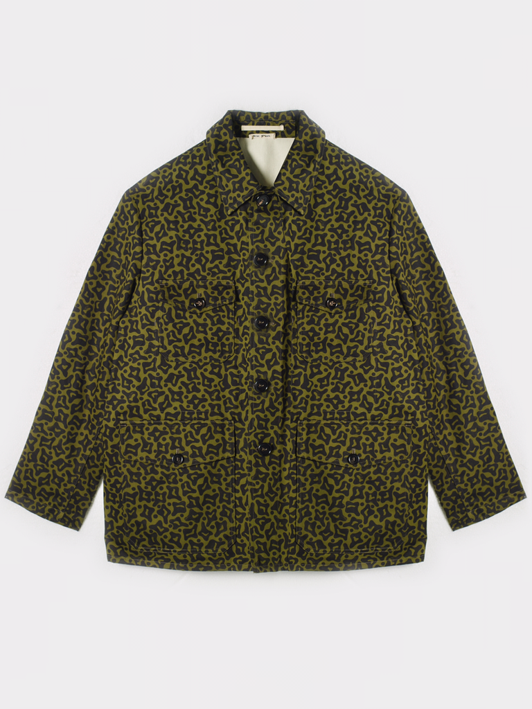 Marni Printed Workwear Jacket