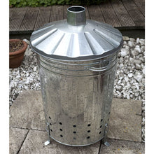 Apollo Everyday Incinerator 80L Outdoor Garden Waste Disposal Burner Fire Bin