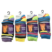 AMOS Ladies Womens 4-7 Socks 3 Pairs Assorted Colours Designs Smart Work Casual