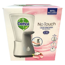 Dettol No-Touch Hand Wash System Automatic Soap Dispenser Rose Shea Butter 250ml