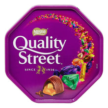Nestle Quality Street Tub 720g Chocolate Toffee Christmas Family Variety
