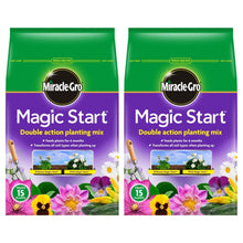 Miracle Gro Magic Start Double Action Planting Mix 5L 15 Plants