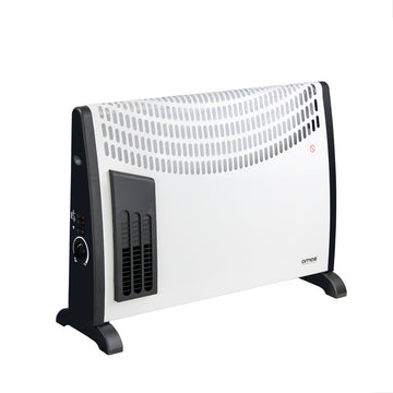 AMOS 2000W Convector Heater 3 Setting Thermostat Turbo Fan Home Office Radiator
