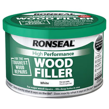 Ronseal 275g High Performance Wood Filler Interior Exterior Crack Hole Repair