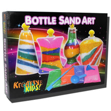 Sand Art Bottle Kids Craft Set DIY Creativity Hobby Party Activity Toy Game Kit