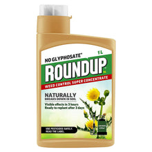 Roundup NL Natural No Glyphosate Weed Control Super Concentrate 1L Weed Root Killer