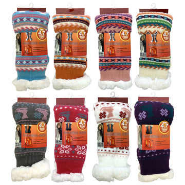 Ladies Womens Size 4-6 4.7 Tog Thermal Cosy Thick Warm Winter Christmas Socks