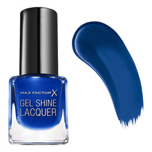 Max Factor Gel Shine Lacquer Mini Nail Polish 4.5ml - Glazed Cobalt 40 Blue