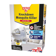 Zero In Knockdown Mosquito Killer Diffuser and 30ml Bottle Kills Biting Insects