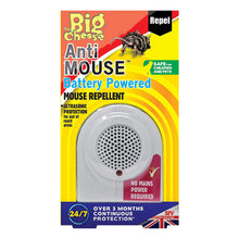 STV The Big Cheese Anti Mouse Battery Powered Repellent Ultrasonic Protection