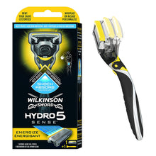 Wilkinson Sword Hydro 5 Sense Energize Razor With 1 Blade Shave Less Irritation