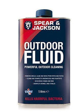 Spear & Jackson Outdoor Cleaning Fluid 5L Patio Path Mould Algae & Moss Killer