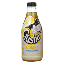 Crusha Banana Milkshake Mix 1L 1 Litre Add to Milk No Added Sugar Make 40 Drinks