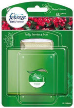 Febreze Set & Refresh Holly Berries & Frost Air Freshener Starter Kit
