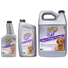Urine Off Dog & Puppy Formula Odour Stain Cleaner 500ml 946ml 3.78L/1 Gallon