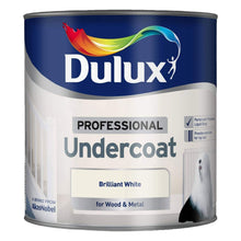 Dulux Professional Undercoat Brilliant White 2.5L One Coat Paint Wood Metal