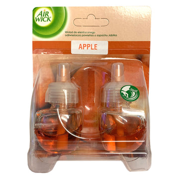 Air Wick 19ml Refill Twin Pack Apple Electric Plug Diffuser In Air Freshener