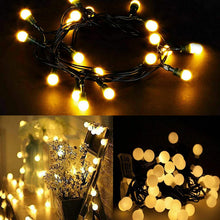 384 LED Berry Cluster Lights 3.6m Christmas Xmas String Lighting Timer Memory Auto On