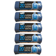 TidyZ 20 Rubble Sacks 32L Instudrial Thickness Extra Strength Heavy Duty Bags