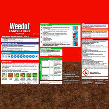 Weedol Rootkill Plus Weedkiller 18 Tubes Liquid Concentrate Fast Acting Kills Weeds Roots