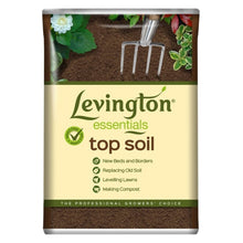Levington 35L Essentials Multipurpose Top Soil Lawn Flower Plant Beds Borders