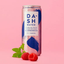 Dash Mixed Fruit Infused Sparkling Water 12 x 330ml Raspberries Cucumber Peach