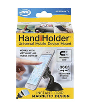 HandiHolder Magnetic Phone & Tablet Car Holder - iPhone, Samsung, Huawei & More