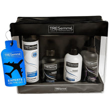 Tresemme Experts On The Go Travel Bag Moisture Shampoo Conditioner Hair Spray