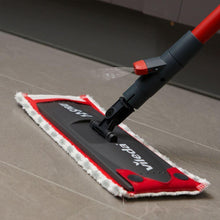 Vileda 1-2 Spray Mop Wet Hard Floor Tiles Cleaning Microfibre Pad Flat Cleaner