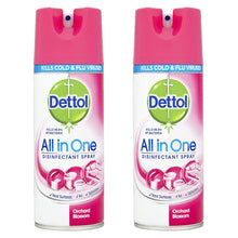 Dettol All In One Disinfectant Spray 400ml - Orchard Blossom - Kills Bacteria