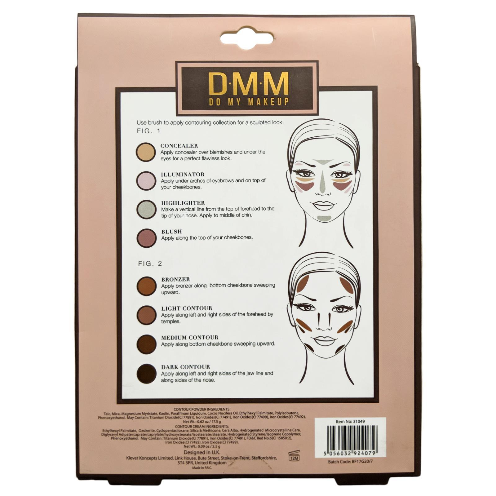 DMM Contour Collection Makeup Palette Concealer Highlighter