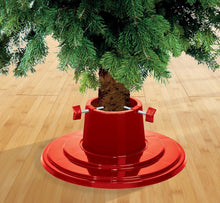 Garland 4 inch / 5 inch Plastic Christmas Tree Stand Red - Secure your Tree!
