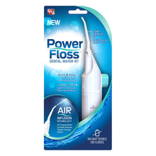 JML Power Floss Dental Water Jet Air Powered Teeth Deep Cleaning Flossing System