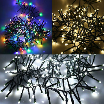 1000 LED Tree String Lights Christmas 25m Length Indoor Outdoor Multi Functions