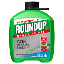 Roundup Ready To Use Fast Action 5L Path Drive Weedkiller Sprayer Refill