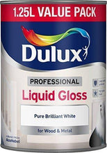 Dulux Professional Liquid Gloss Paint - 1.25L - Pure Brilliant White