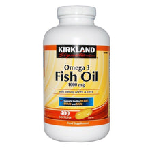 Kirkland Omega-3 Fish Oil Food Supplement - 400 SoftGels