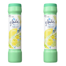 Glade Shake N Vac - Fresh Lemon - Carpet Vacuum Freshener 1-12 Packs