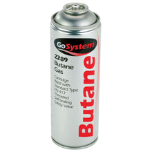 GoSystem 2289 Butane Gas Cartridge EN417 Threaded Blow Torch Weed Burner 277g
