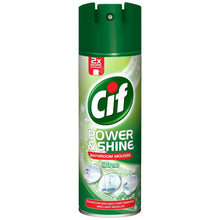 Cif Power & Shine Bathroom Mousse Citrus 500ml Soapcscum Dirt Remover