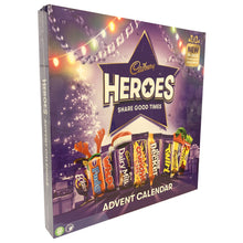 Cadbury Heroes Advent Calendar 230g Christmas Festive 24 Chocolate Countdown