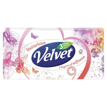 Velvet Classic Luxurious 80 Tissues Box Facial 3 Ply Soft Strong Absorbent Family Pack