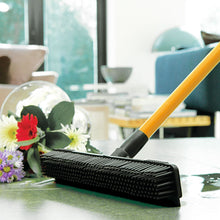 JML Rubber Wonderbroom Telescopic Window Floor Carpet Cleaning Sweeping Brush