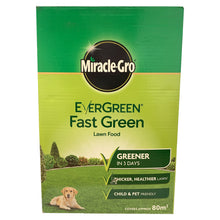 Miracle-Gro Evergreen Fast Green Lawn Food 80m2 2.8kg Thicker Greener Grass