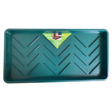Garland G83G Boot Tray Green Shoe Welly Plastic Storage Clean Tidy 79 x 40 x 5 cm