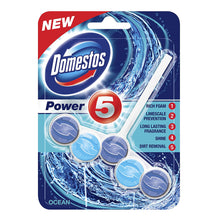 Domestos Power 5 Rim Block Chlorine Lavender Lime Ocean Pine Bleach Winter