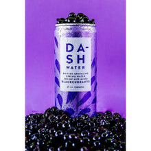 Dash Water Sparkling Wonky Fruit & Veg Infused Water 16 Cans 330ml - Blackcurrant Cucumber Lemon Raspberry